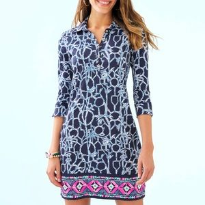 NWT Lilly Pulitzer Ansley polo dress S